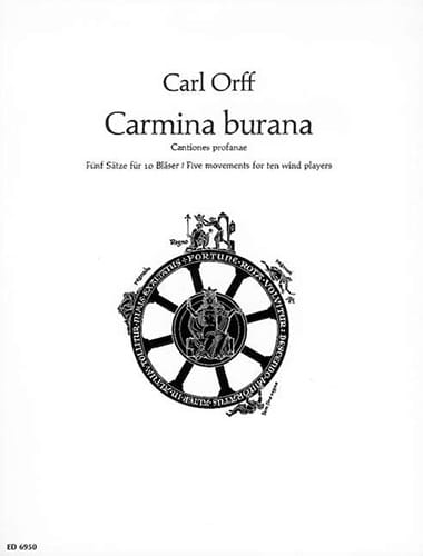 Carmina Burana - Bläser - ORFF - Partition - laflutedepan.com