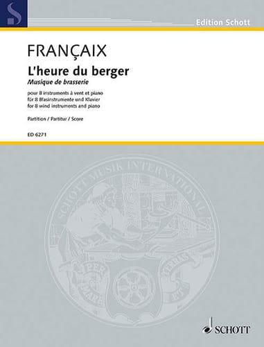 L'heure du berger - 8 vents, piano - Score - laflutedepan.com