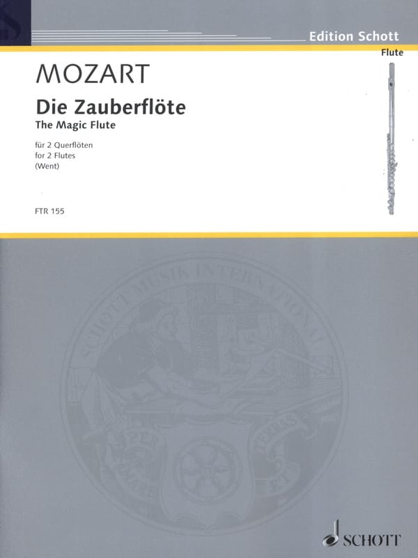 MOZART - Die Zauberflöte - Partition - di-arezzo.co.uk