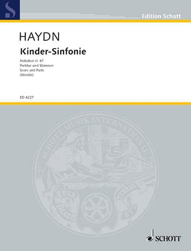 HAYDN - Kinder-Sinfonie - Partitur + Stimmen - Partition - di-arezzo.fr
