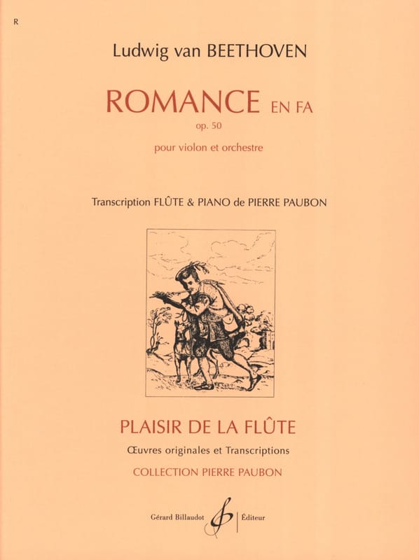 Romance en Fa op. 50 - Flûte piano - BEETHOVEN - laflutedepan.com