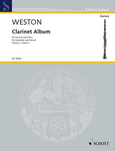 Clarinet album - Volume 1 - Pamela Weston - laflutedepan.com