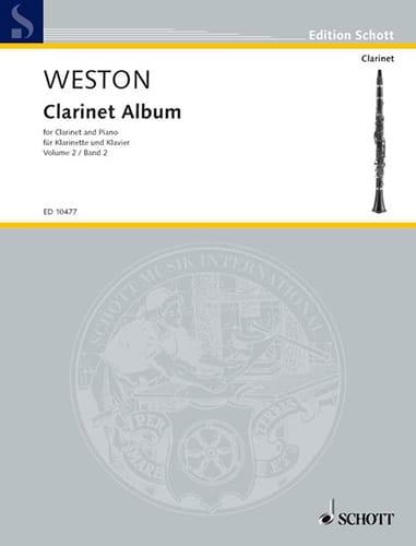 Clarinet Album - Volume 2 - Pamela Weston - laflutedepan.com