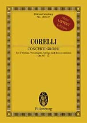 12 Concerti Grossi, Op. 6 - Conducteur - CORELLI - laflutedepan.com