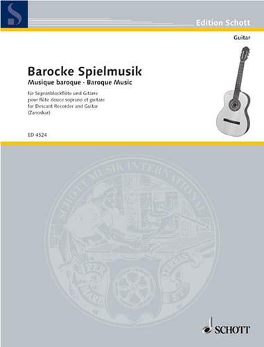 Barocke Spielmusik - Sopranblockflöte Gitarre - laflutedepan.com