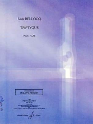 Triptyque - Ivan Bellocq - Partition - laflutedepan.com