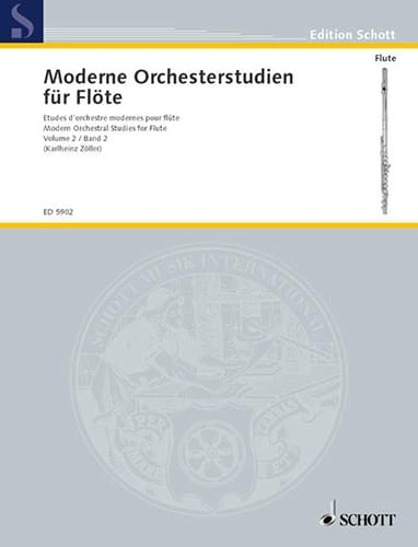 - Modern Orchesterstudien, Bd. 2 - Flöte - Partition - di-arezzo.co.uk
