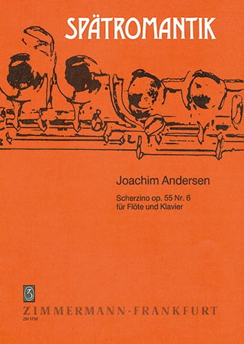 Joachim Andersen - Scherzino op. 55 n° 6 - Partition - di-arezzo.fr