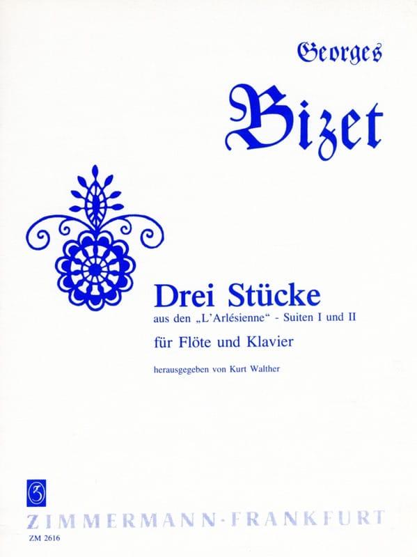 BIZET - 3 Stücke aus den L 'Arlésienne - Flöte Klavier - Partition - di-arezzo.co.uk
