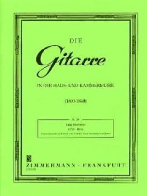 Quintett Nr. 2 C-Dur - Stimmen - BOCCHERINI - laflutedepan.com