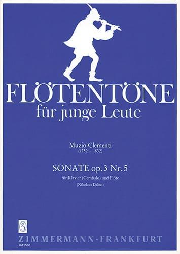 Sonate, op. 3 n° 5 - Flöte Klavier Cembalo - laflutedepan.com