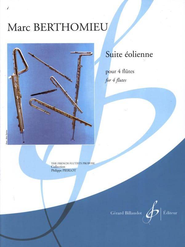 Marc Berthomieu - Windmill Suite - 4 Flutes - Partition - di-arezzo.co.uk