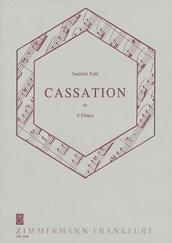 Cassation für neun Flöten - Jindrich Feld - laflutedepan.com