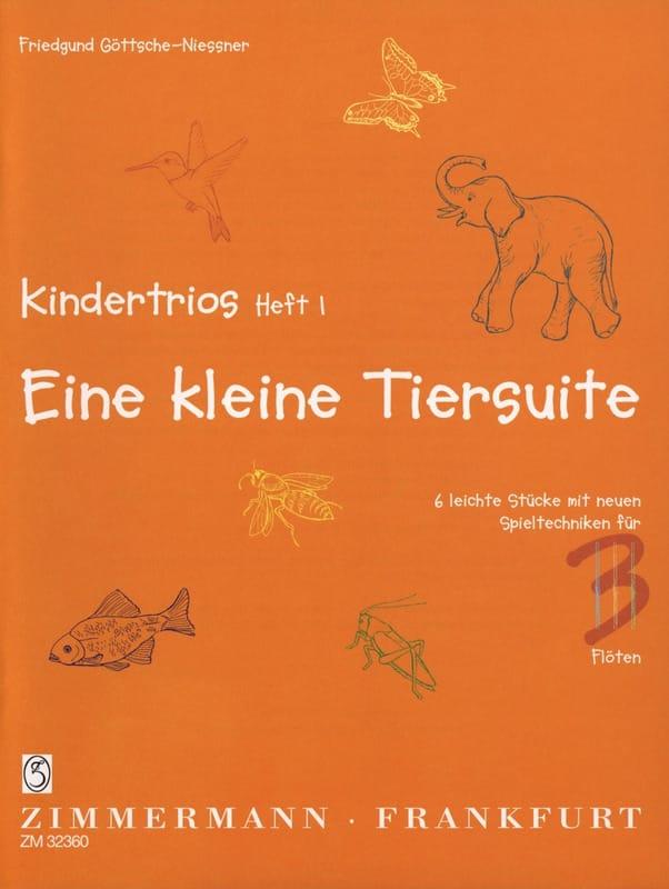 Kindertrios Volume 1 - Friedgund Göttsche-Niessner - laflutedepan.com