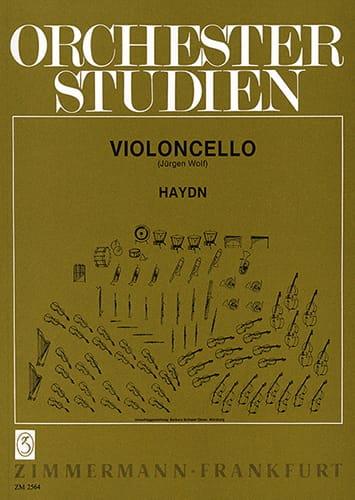 Orchesterstudien - Cello - HAYDN - Partition - laflutedepan.com