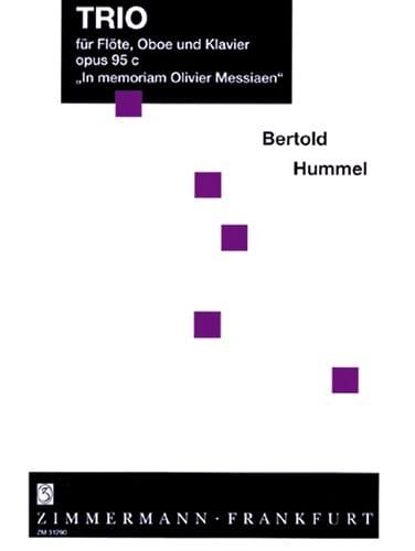 Trio op. 95c - Flöte Oboe Klavier op. 95c - HUMMEL - laflutedepan.com