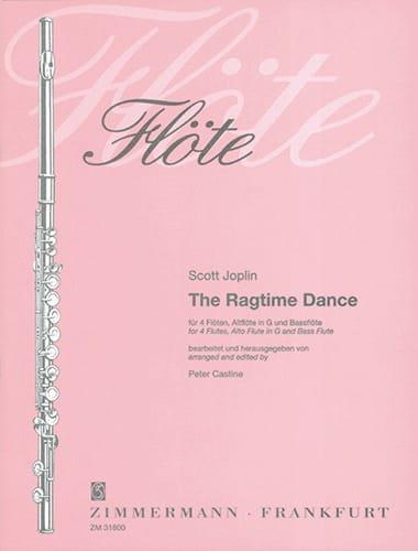 The Ragtime Dance - 4 Flöten Altflöte Bassflöte - Partitur + Stimmen - laflutedepan.com
