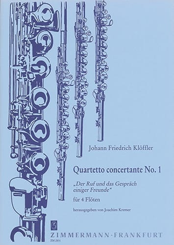 Quartetto Concertante n° 1 - 4 Flöten - laflutedepan.com