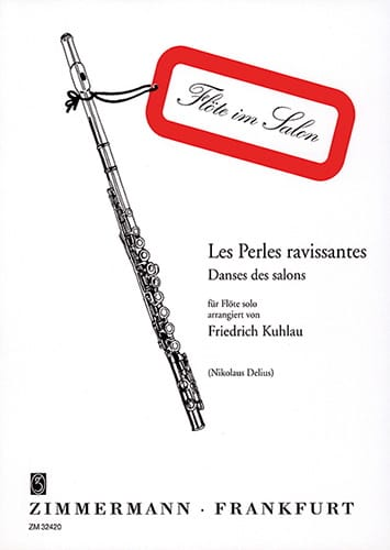 Friedrich Kuhlau - Lovely pearls - Solo flute - Partition - di-arezzo.co.uk