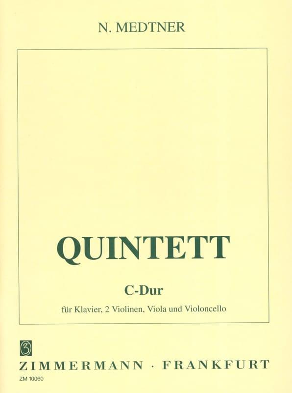 Quintett C-Dur -Klavier, 2 Violinen, Viola, Cello - laflutedepan.com