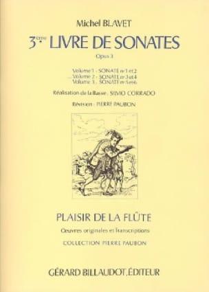 3ème Livre de Sonates, op. 3 Volume 2 - Flûte et Bc - laflutedepan.com