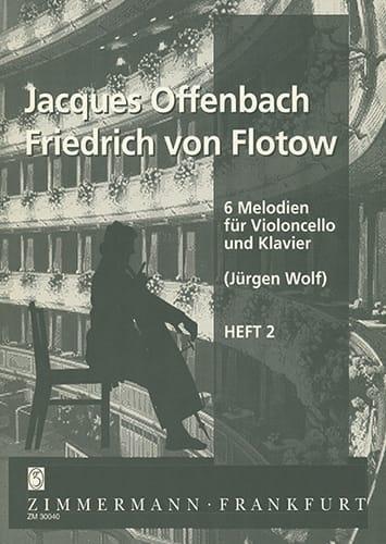 6 Melodien für Violoncello und Klavier, Heft 2 - laflutedepan.com
