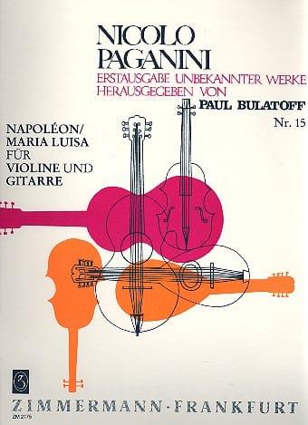 Napoléon / Maria Luisa - Violine Gitarre - laflutedepan.com
