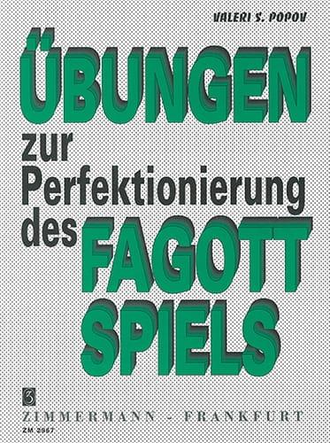 Übungen zur Perfektionierung des Fagottspiels - laflutedepan.com