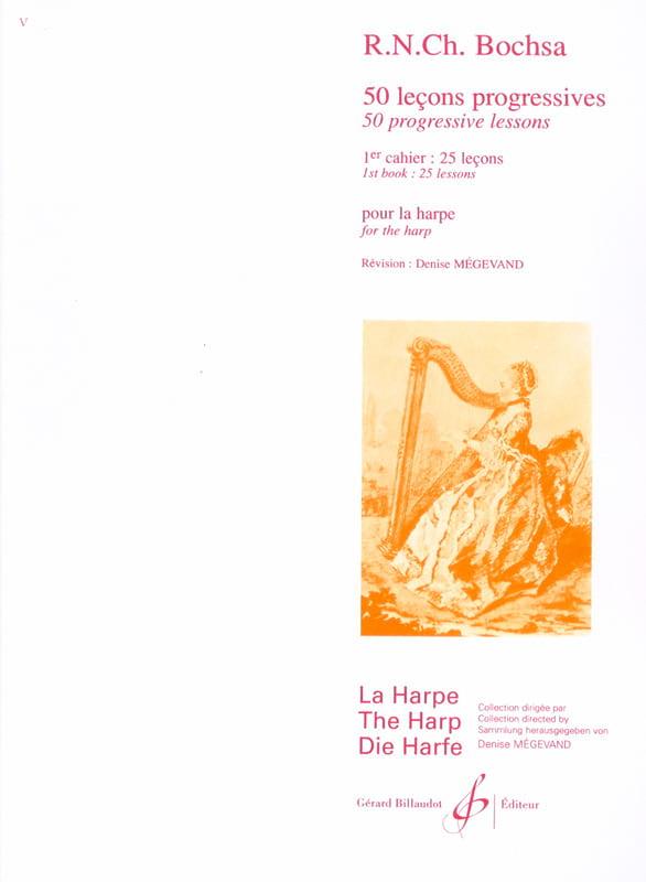 Charles Bochsa - 50 Progressive Lessons - Volume 1 - Partition - di-arezzo.com