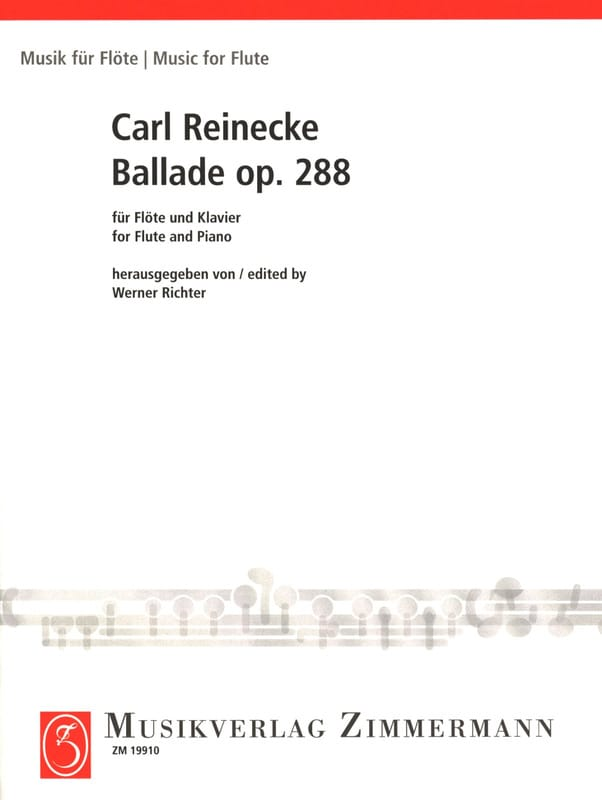 Carl Reinecke - Ballade Op. 288 - Partition - di-arezzo.co.uk