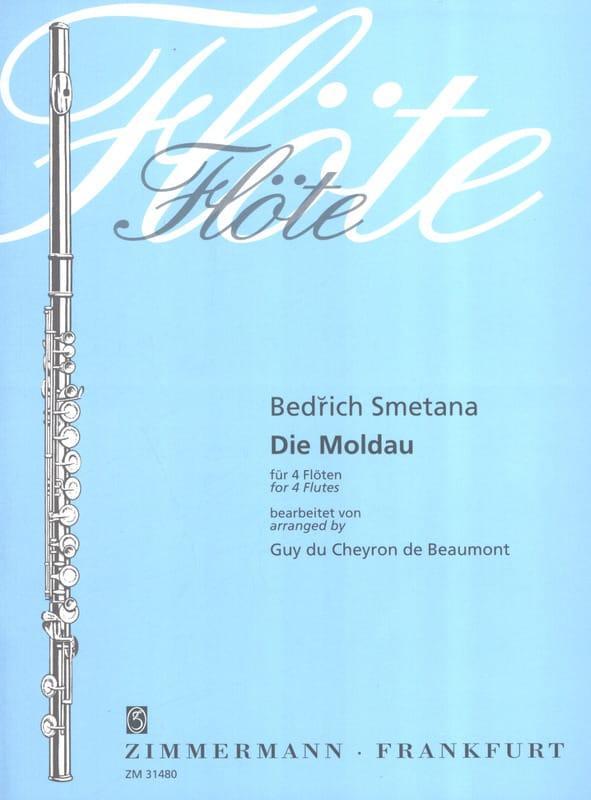 Die Moldau - 4 Flûtes - SMETANA - Partition - laflutedepan.com