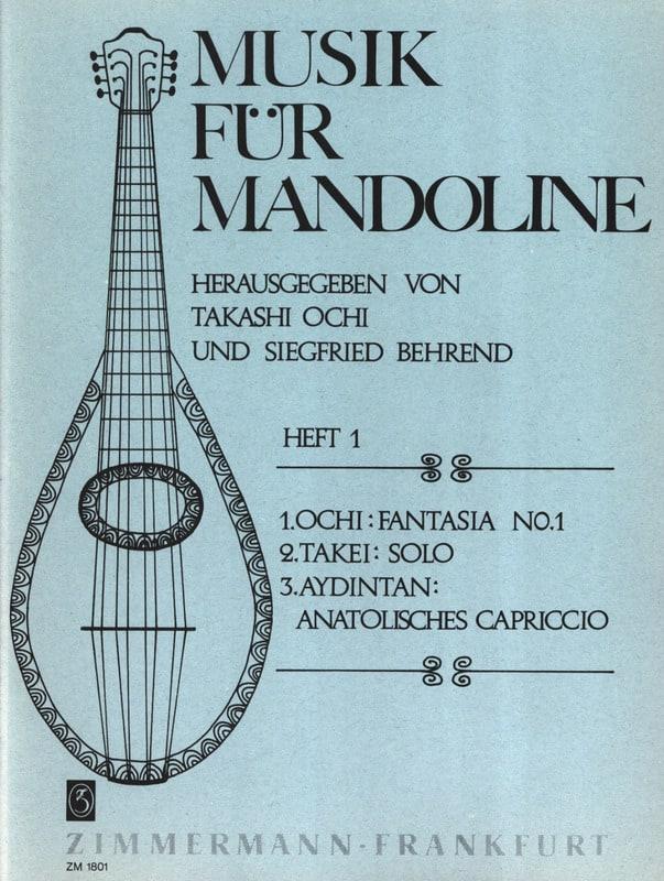 Fantasia Nr. 1 / Solo / Anatolisches Capriccio - laflutedepan.com