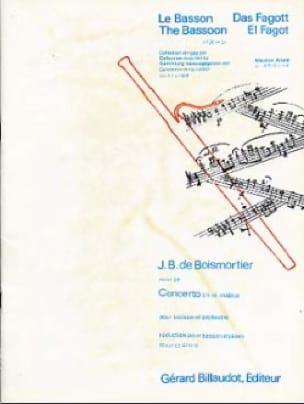 Concerto en ré majeur op. 26 pour basson - laflutedepan.com