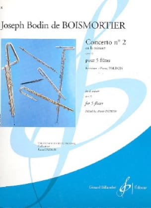 BOISMORTIER - Concerto Op. 15 N ° 2 in the Minor - Partition - di-arezzo.com
