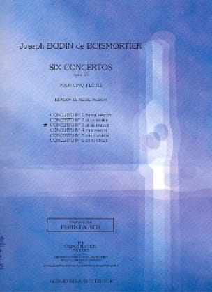 BOISMORTIER - Concerto op. 15 n ° 3 in D major - 5 Flutes - Partition - di-arezzo.com