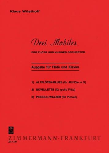 3 Mobiles - Flöte Klavier - Klaus Wüsthoff - laflutedepan.com