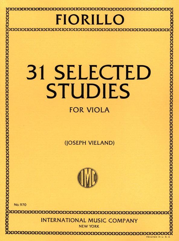 31 Selected Studies - Frederigo Fiorillo - laflutedepan.com