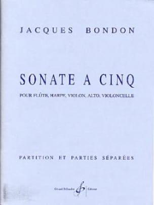 Sonate a cinq -Partition + parties - laflutedepan.com