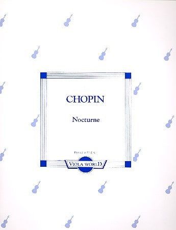 Nocturne - Alto - CHOPIN - Partition - Alto - laflutedepan.com