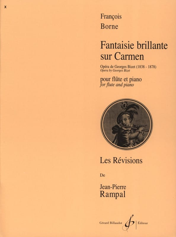 François Borne - Brilliant fantasy on Carmen - Partition - di-arezzo.com