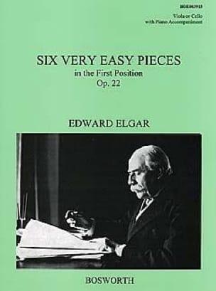 6 Very easy pieces op. 22 -Viola - ELGAR - laflutedepan.com