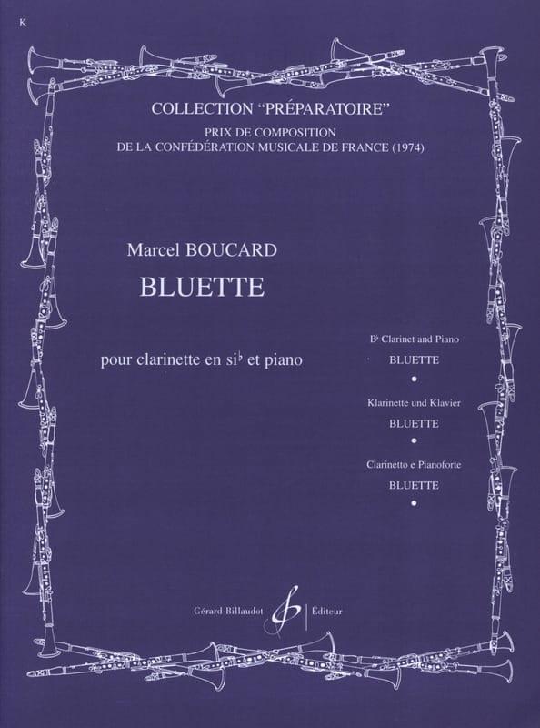 Bluette - Marcel Boucard - Partition - Clarinette - laflutedepan.com