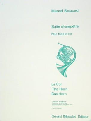 Suite champêtre - Marcel Boucard - Partition - Duos - laflutedepan.com