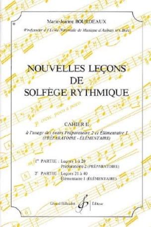 BOURDEAUX - Nouvelles lecons de solfège rythmique Volume 2 - Partition - di-arezzo.fr