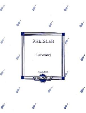 Liebeslied - Alto - KREISLER - Partition - Alto - laflutedepan.com