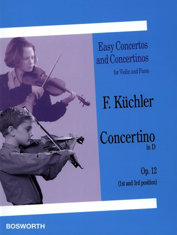 Ferdinand Küchler - Concertino in D op. 12 - Partition - di-arezzo.co.uk