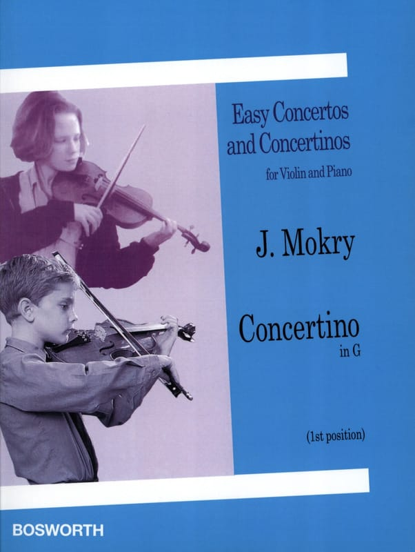 J. Mokry - Concertino in G - Violin - Partition - di-arezzo.co.uk