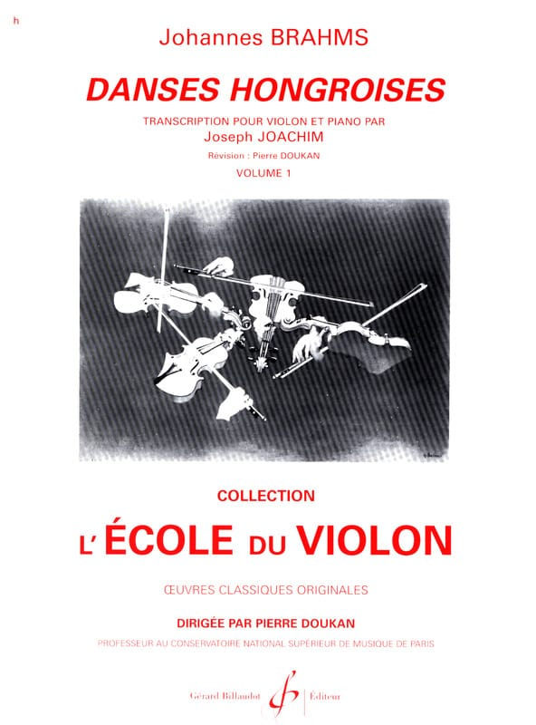 BRAHMS - Hungarian Dances Volume 1 N ° 1 A 10 - Partition - di-arezzo.co.uk
