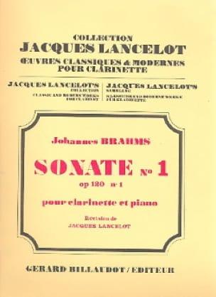 BRAHMS - Sonata n ° 1 opus 120/1 - Clarinete de piano - Partition - di-arezzo.es