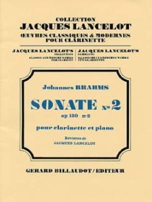 BRAHMS - Sonata No. 2 Op. 120 No. 2 - Partition - di-arezzo.es